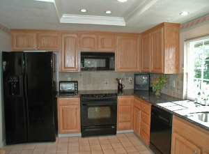 After Cabinet Restoration and Wood Renewal