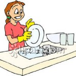 Young_Woman_Washing_Dishes_Royalty_Free_Clipart_Picture_081222-020959-449042