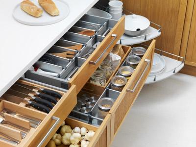 Kitchen Storage Solutions cabinet restoration experts - kitchen makeovers, inc